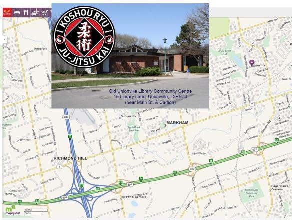Markham Ju-Jitsu Academy map